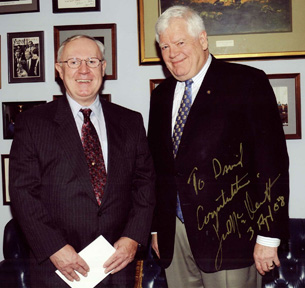 Photo of Dave Allstot with Rep. Jim McDermott